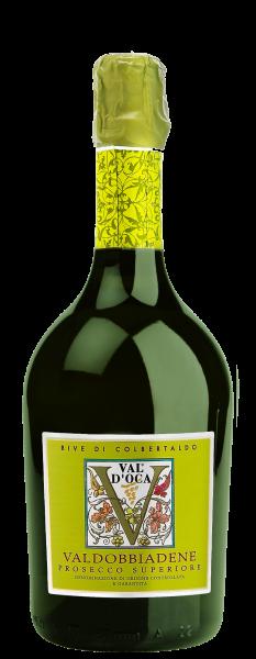Val d'Oca Rive di Colbertaldo Prosecco Superiore Valdobbiadene Extra Dry 1