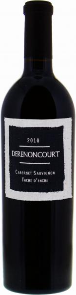 Derenoncourt Tache d'Encre Cabernet Sauvignon 2010 1