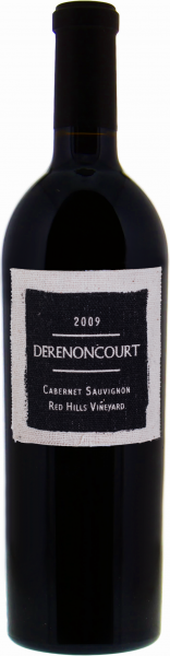 Derenoncourt Cabernet Sauvignon Red Hills Vineyard 2009 1