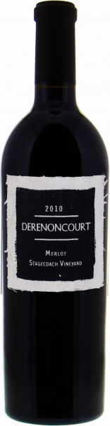 Derenoncourt Merlot Stagecoach Vineyard 2010 1