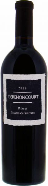 Derenoncourt Merlot Stagecoach Vineyard 2012 1