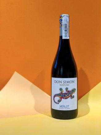 Don Simon Nature Merlot - wine wine магазин склад