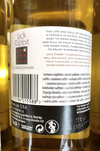 Jack Rabbit Chardonnay склад магазин winewine