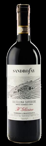 Sandro Fay Sassella Il Glicine Valtellina Superiore wine wine магазин склад