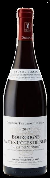Thevenot le Brun Bourgogne Hautes Cotes de Nuits Clos du Vignon 1