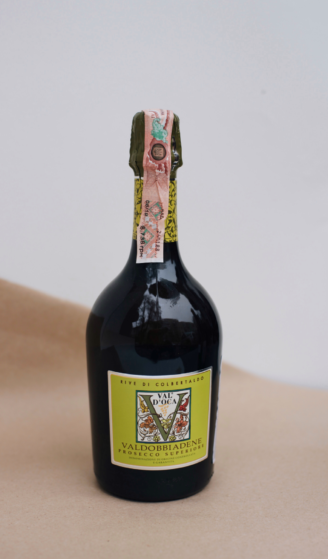 Val d'Oca Rive di Colbertaldo Prosecco Superiore Valdobbiadene Extra Dry - просекко кольбертальдо Валь де Ока