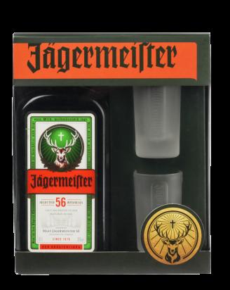 Ликер Jagermeister 0.7л с рюмками 2