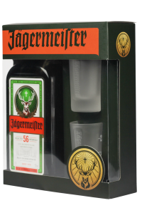 Лікер Jagermeister 0.7л з чарками склад магазин winewine