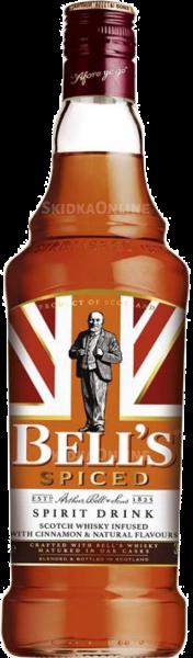 Алкогольний напій Bells Spiced 0,7л 1
