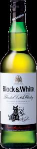 віскі Black & White 0.7л