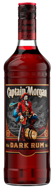 Ром Captain Morgan Dark 0.7л