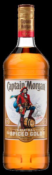 Ром Captain Morgan Spiced Gold 1л