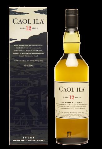 Виски Caol Ila 12YO 0.7л 1