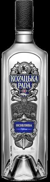 Горілка Козацька рада Особлива 1л 1