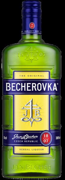 Настоянка Becherovka 0,7л магазин-склад winewine
