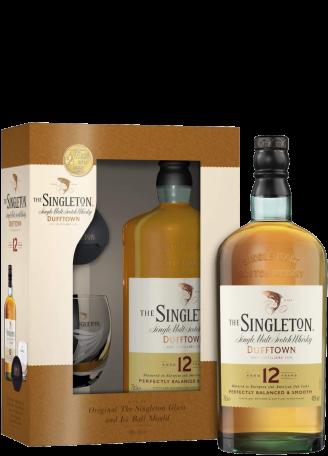 Віскі The Singleton of Dufftown 12YO 0,7л (зі склянками) 1