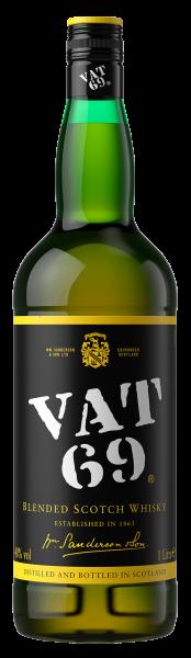 Віскі Vat 69 1л склад магазин winewine