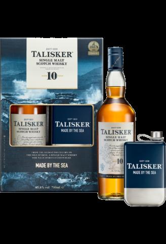 Віскі Talisker 10YO 0,7л (з флягою) - магазин склад wine wine