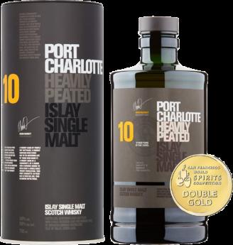 Віскі Bruichladdich Port Charlotte 10YO 50% склад магазин winewine