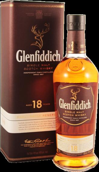 Віскі Glenfiddich 18 yo 0.7л 1