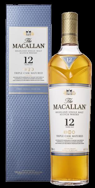 Віскі Macallan Triple Cask 12 років wine wine магазин склад