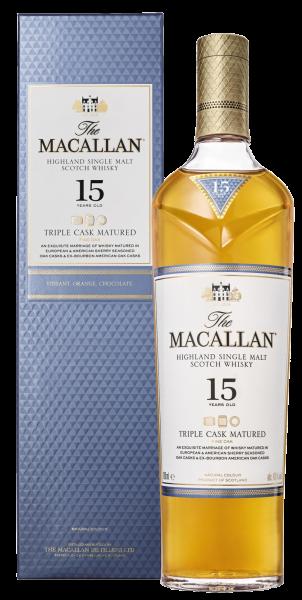 Віскі Macallan triple cask 15 років wine wine магазин-склад