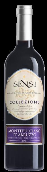 Sensi Collezione Montepulciano dAbruzzo- магазин склад winewine