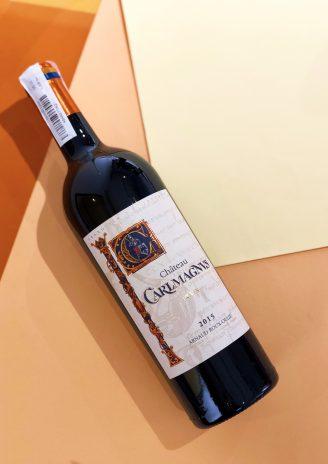 Chateau Carlmagnus Fronsac 2015 - wine wine магазин склад