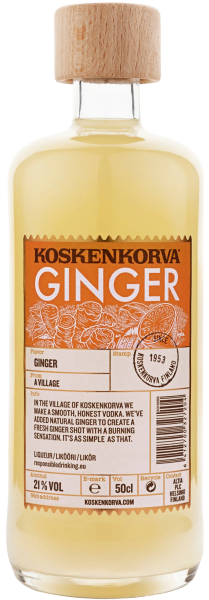 Ликер Koskenkorva Ginger 0,5л 1