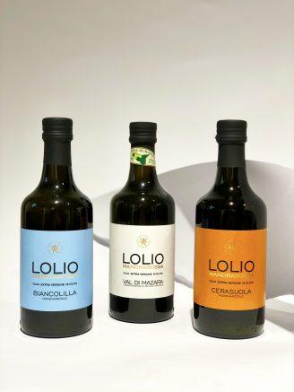 Масло оливковое Lolio Mandrarossa Biancolilla - магазин склад winewine