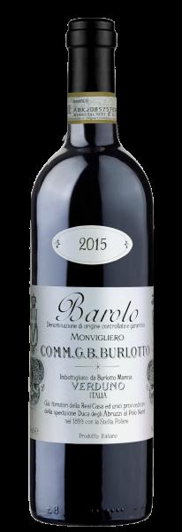 Comm. G.B. Burlotto Barolo Monvigliero 2015 - магазин склад winewine