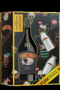 Набір Baileys 0,7 з молочними пляшечками - магазин склад winewine