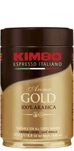 Кава мелена Kimbo Aroma Gold 100% Arabica 250г (ж/б)