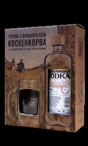 Набір Koskenkorva Original (зі стаканами та трубочоками)