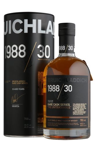 Виски Bruichladdich Rare Cask Series 1988 30 YO 0.7л