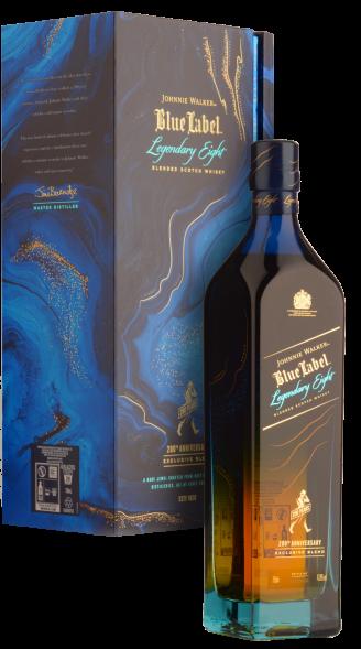 Виски Johnnie Walker Blue label Legendary Eight 0.7л - магазин склад winewine