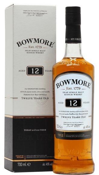 Виски Bowmore 12YO 0.7л