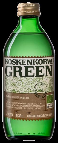 Koskenkorva Green Cucumber Organic Cocktail магазин склад winewine