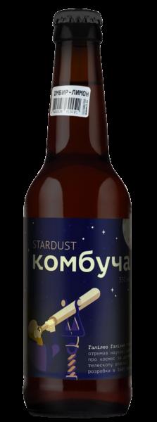 Комбуча Sturdust імбир-лимон 0.33л - магазин склад winewine